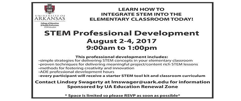 2017 STEM PD Workshop